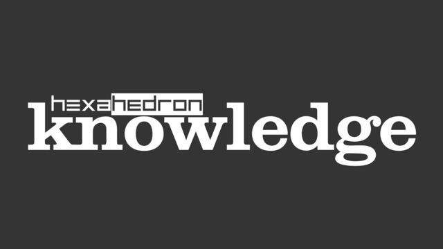 File:Hexahedron knowledge logo v3 with main logo.png