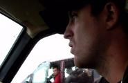 Dainton in car