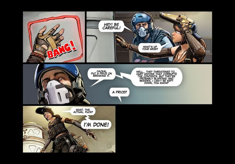 The Shell Shock Update - Comic 008