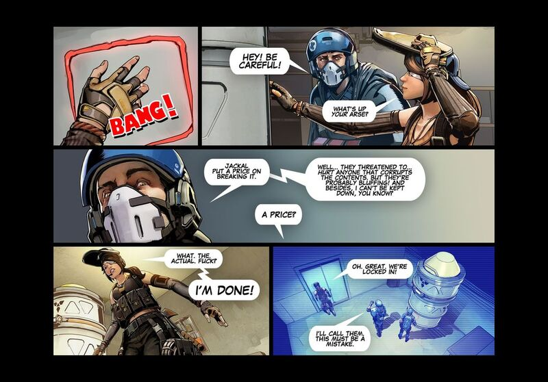 The Shell Shock Update - Comic 009