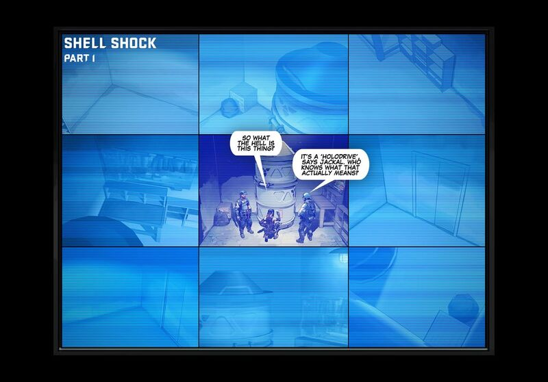 The Shell Shock Update - Comic 001
