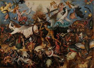 Pieter Bruegel the Elder - The Fall of the Rebel Angels - Google Art Project