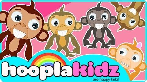 Five Little Monkeys Song