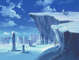 Lunar Snowfield