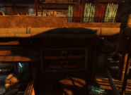 Sign Slaughterhouse