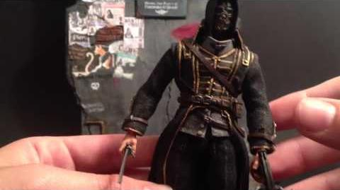 Custom Action Figure Review - Corvo Attano and Environment