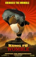 Kung Fu Womble Poster