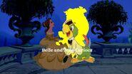 Belle and Jose Carioca Logo
