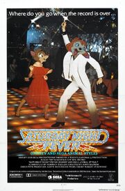 Saturday Night Fever (Disney and Sega Animal Style) Poster