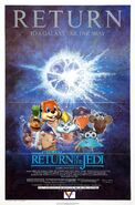 Return of the Jedi (Disney and Sega Style) Poster
