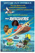 The Rescuers (Disney and Sega Animal Style) Poster