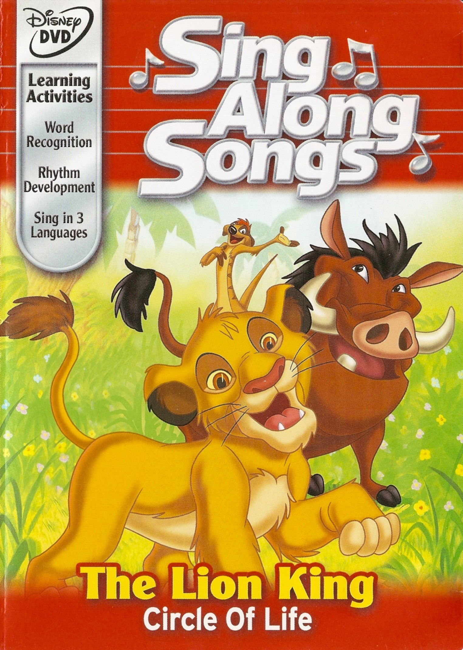 disney sing along songs  the lion king