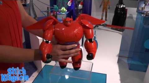 Disney BIG HERO 6 Baymax Toys from BANDAI - First Look!