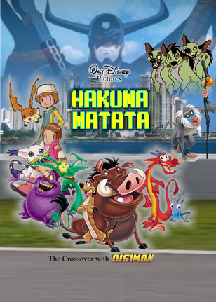 Disney Hakuna Matata - The crossover of Digimon