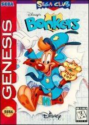Bonkers Sega Genesis Cover