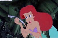 Ariel and Fork