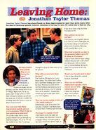 Jonathan Taylor Thomas interview Home Improvement Nickelodeon Magazine December 1998