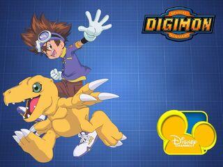 Disney Channel Digimon Adventure