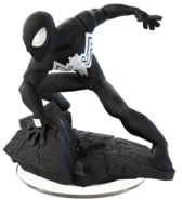 Black Spider-Man DI Figurine