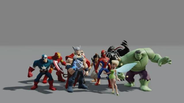 Disney Infinity Combat Animation