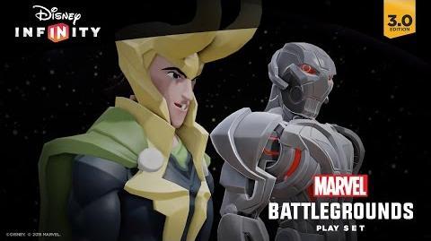 Marvel Battlegrounds Play Set Trailer Disney Infinity 3