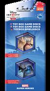 Marvel Toy Box Game Discs