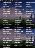 Disney Infinity Credits