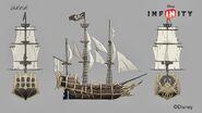 Ship Skeletal concept