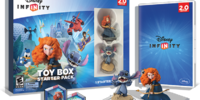 Disney Infinity: 2.0 Edition Toy Box Starter Pack