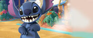 Stitch's Tropcial Rescue Banner
