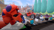 Disney INFINITY toy box Donald and Baymax