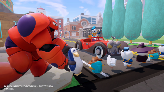 File:Disney INFINITY toy box Donald and Baymax.png