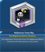 Halloween Town Sky 3.0
