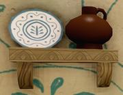 Aurora's Cottage Shelf