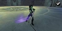 Gamora - Sword Uppercut