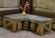 Corner Fantasyland Counter