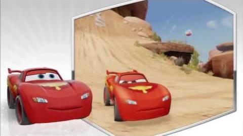 Disney Infinity - Lightening McQueen Character Gameplay - Series 1