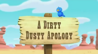 A Dirty Dusty Apology titlecard