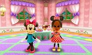 Minnie Mouse and Mii Photos