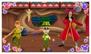 Peter Pan Tinker Bell Captain Hook and Mii Photos