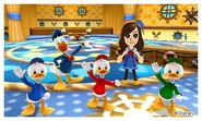 Donald Three Nephews and Mii Photos