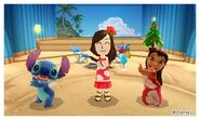 Stitch Lilo and Mii Photos