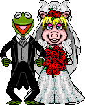 MissPiggy-Kermit Wedding RichB