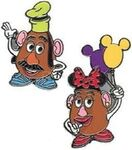 Mr. Potato Head goofy Mrs. Potato Head minnie