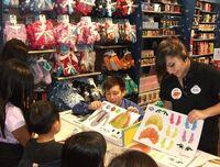 Disney Store Muppets craft event 3