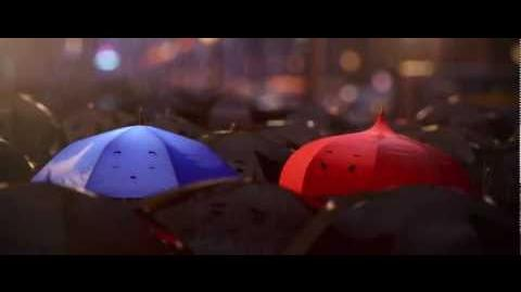 """Pixar Short """"The Blue Umbrella"""" Clip"""