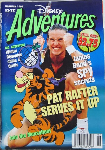 File:Disney Adventures Magazine australian cover February 1998 Pat Rafter.jpg
