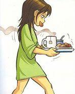 Sheila breakfast in bed
