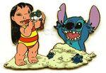 DCA Lilo & Stitch In the Sand
