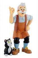 Geppetto and figaro figures